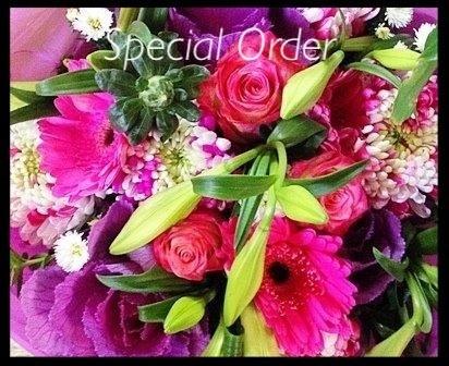 Special Order ( Call & Arrange)