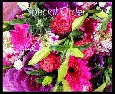 Special Order ( Call & Arrange)