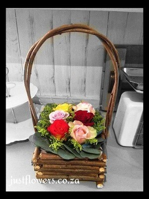 Basket Roses (Small)