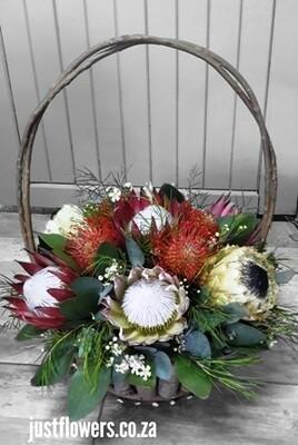 Protea Basket