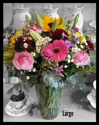 Seasonal Mixed Vase