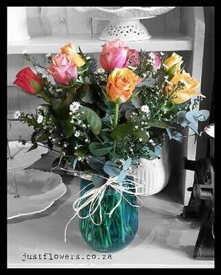 Sml Rose Vase
