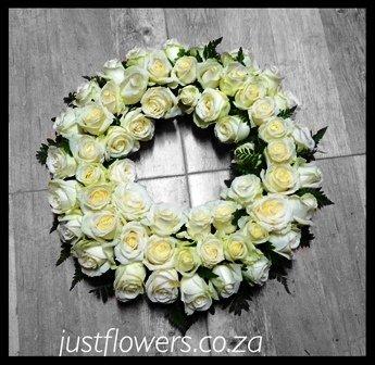 Wreath Round Roses