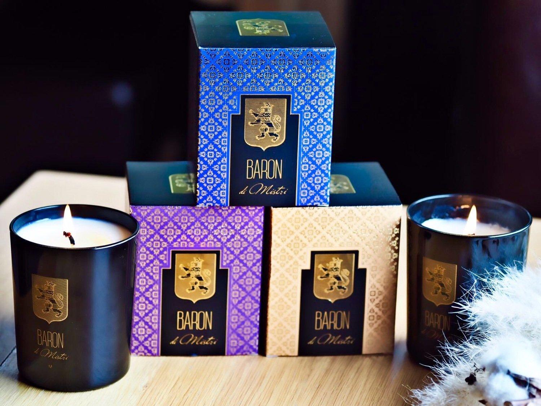 Les 3 bougies parfumées de Luxe