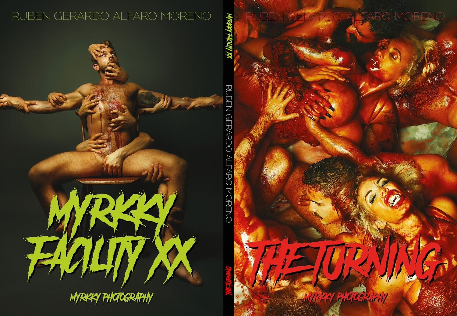 """MYRKKY FACILITY XX"" + ""THE TURNING"" Double Feature Book"