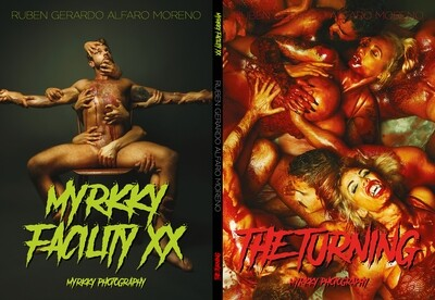 """""""MYRKKY FACILITY XX"""" + """"THE TURNING"""" Double Feature Book"""