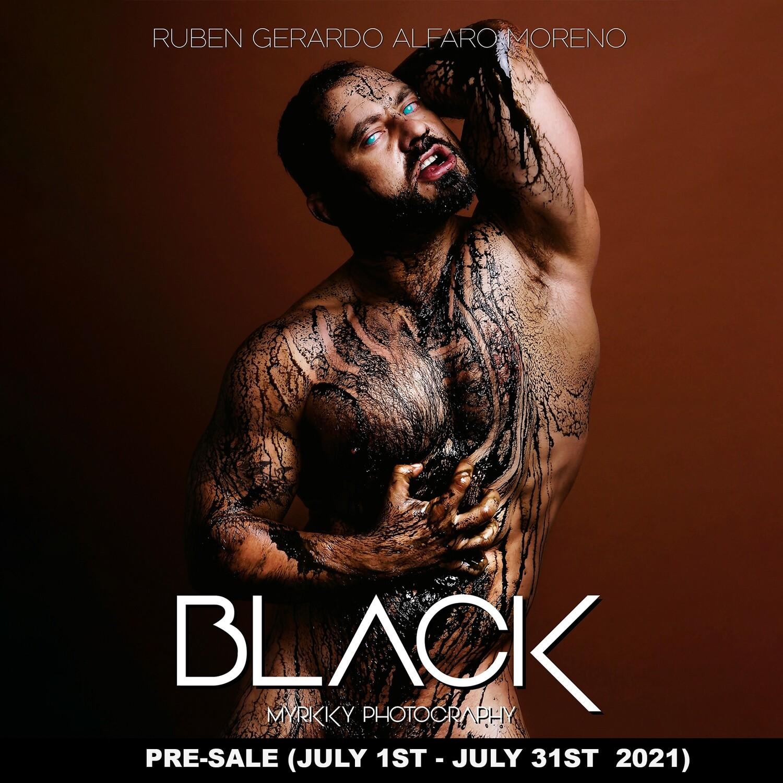 BLACK - Photography Book - PRESALE