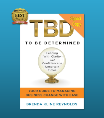TBD - To Be Determined | Signed Paperback Book