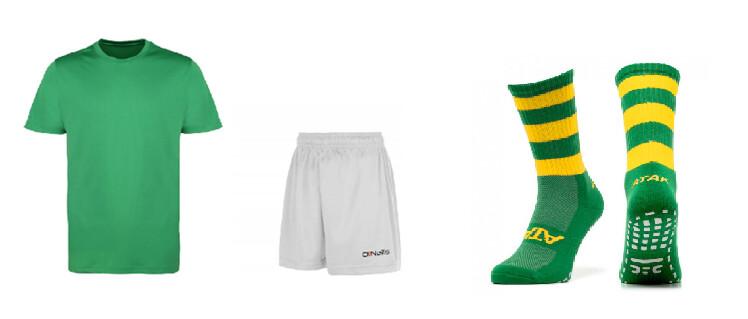 Underage Kit - Emerald/Amber/White