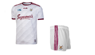 Galway Infants Kit - White/Maroon