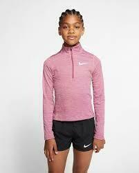Nike HZ Elements top - pink