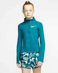 Nike HZ Elements Top - Teal Green