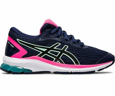 Asics GT 1000 9 - Navy/Pink/Lime