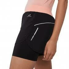 Pro Touch Rufina III Short - Black/Coral