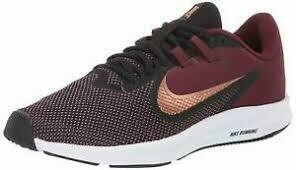 Nike Downshifter - Black/Wine/Gold