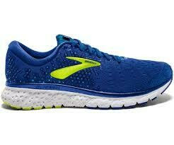 Brooks Glycerin Trainers - Royal Blue/Lime