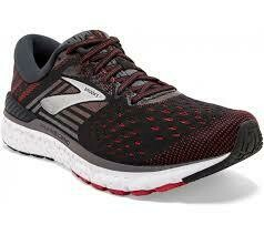 Brooks Transcend Trainers - Grey/Red