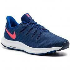 Nike Quest - Blue/Neon Red