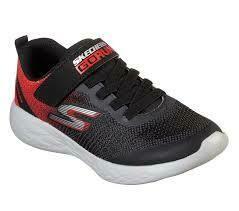 Skechers BOYS Go Run - Black/Red