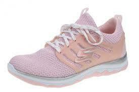 Skechers GIRLS Diamond Runner - Light Pink