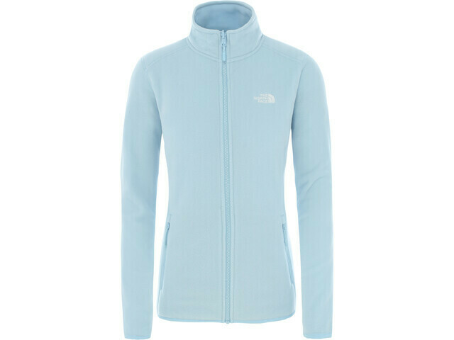W NF Glacier Full Zip Jacket - Blue