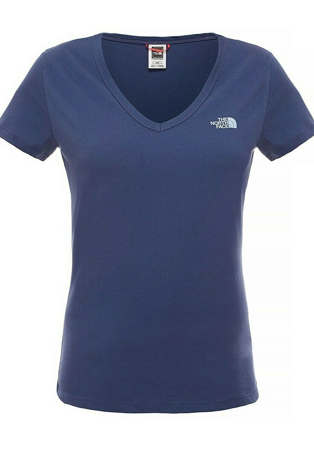 W NF Simple Dome Tee - Navy