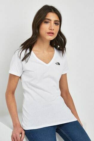 W NF Simple Dome Tee - White