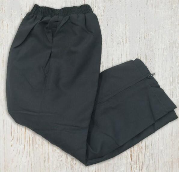 Kids Microfibre Track Pants - Grey