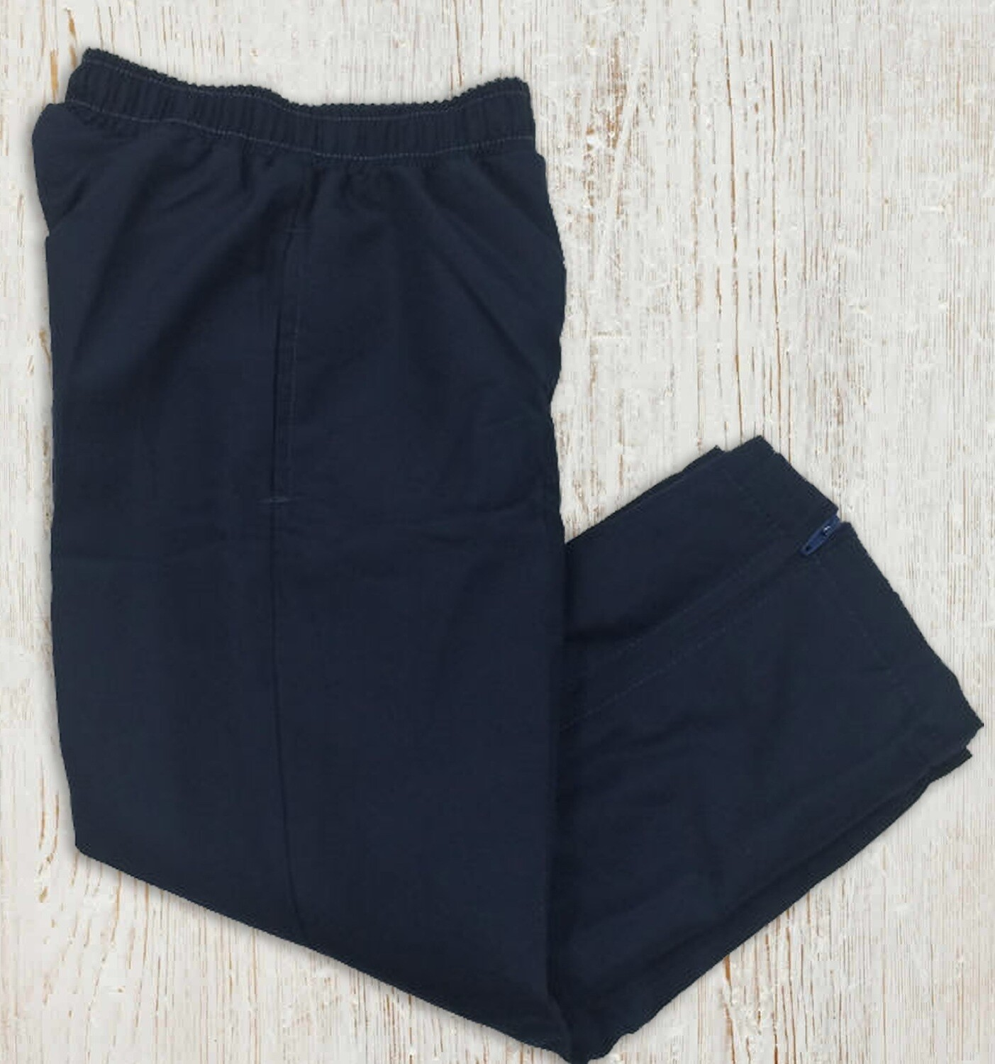 Kids Microfibre Track Pants - Navy