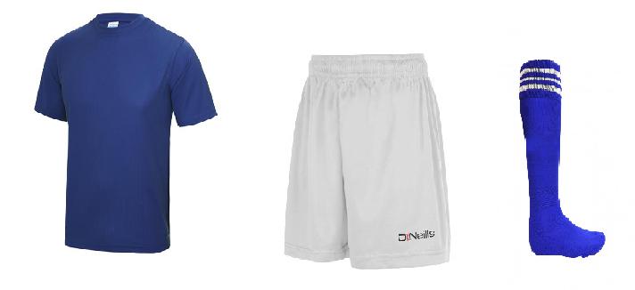 Underage GAA Kit - Blue/White