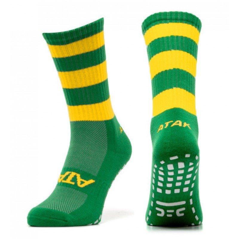 Atak Midi Sock - Emerald/Green