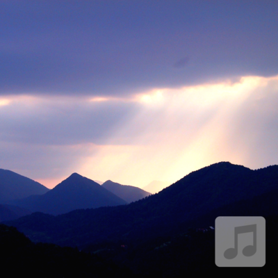 Calming Storm  | Mountain Rain & Thunder Relaxation Music