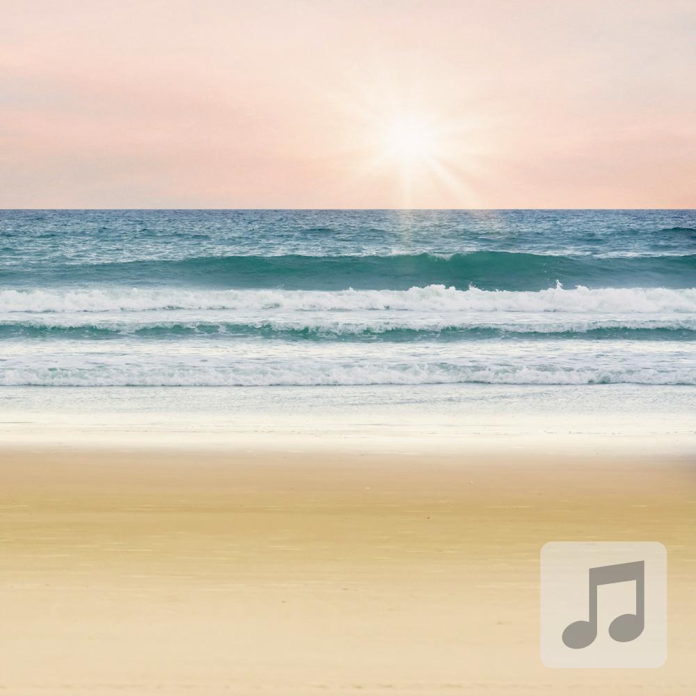 At The Beach | Deep Delta Waves | Rest and Sleep | Binaural Beats Music