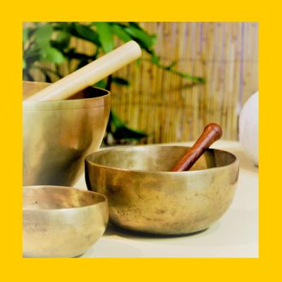 Singing Bowls Solar Plexus Chakra Note E | Healing Meditation Music