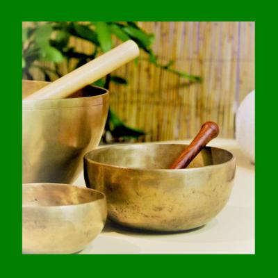 Singing Bowls Heart Chakra Note F | Healing Meditation Music