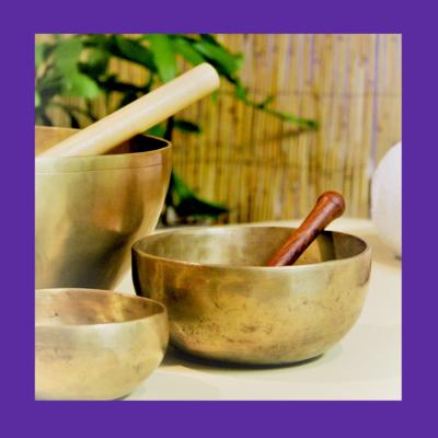 Crown Chakra Singing Bowls Note B | Healing Meditation Music