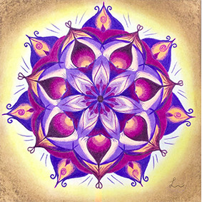 Lysel Mandala Artprint 'Ruimte Nemen' (vanaf prijs)