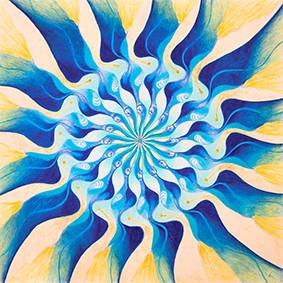 Lysel Mandala Artprint 'Weg naar Buiten' (vanaf prijs)