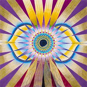 Lysel Mandala Artprint 'Zien met Gevoel'  (vanaf prijs)