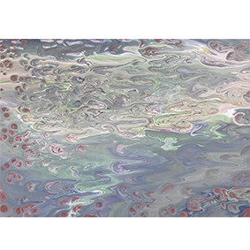 "Lysel Acryl Art ""Onder de Waterspiegel"" 40x60"