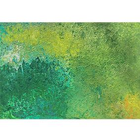 """Lysel Acryl Art """"MosZacht"""" 60x80 (ook als wenskaart)"""