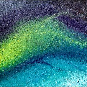 """Lysel Acryl Art """"Vanuit Begrenzing"""" / """"From Boundary"""" 60x60"""