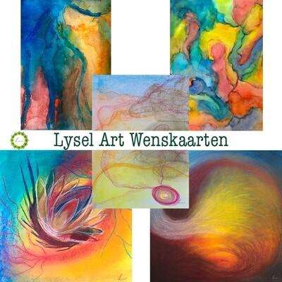 Lysel Art Wenskaarten Pastel (5 stuks)