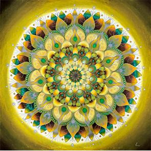 Lysel Mandala 'Perfecte Imperfectie' 75x75 VERKOCHT