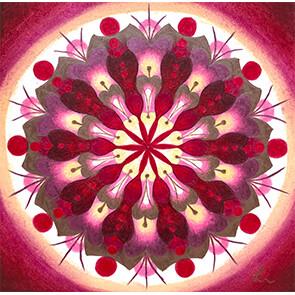 Lysel Mandala 'Mogelijkheden' 15x15