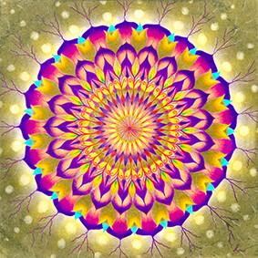 Lysel Mandala 'Jezelf Vieren' 30x30