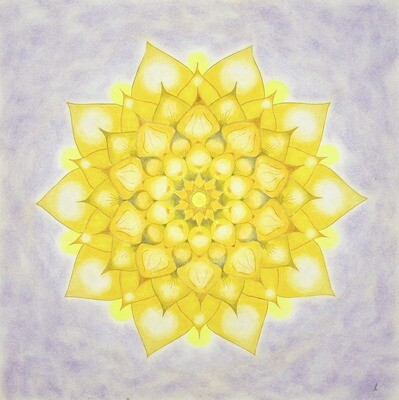Lysel Mandala 'Power in het Licht' 50x50