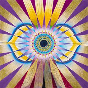 Lysel Mandala 'Zien met Gevoel' 50x50