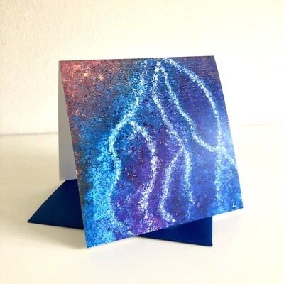 Lysel Art 'Blauwe Regen'