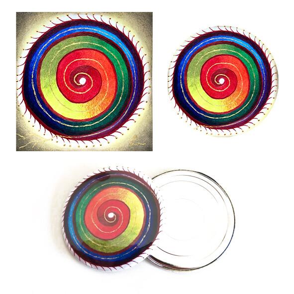 Lysel Magneet Button Persoonlijk (4 stuks)